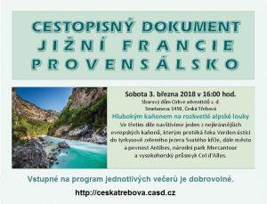 Jižní Francie (3) @ Sborový dům CASD, Česká Třebová